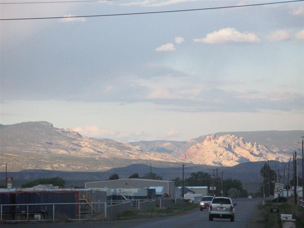 Split mountain late afternoon, Вернал