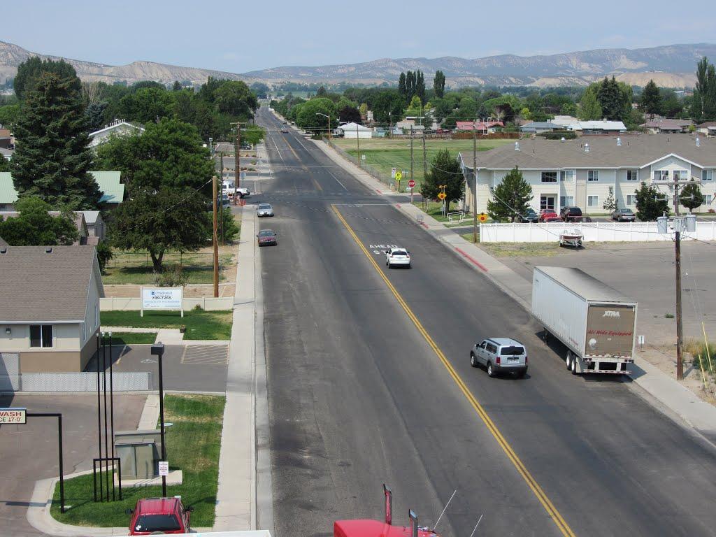 Main Street west of 800 West, Вернал