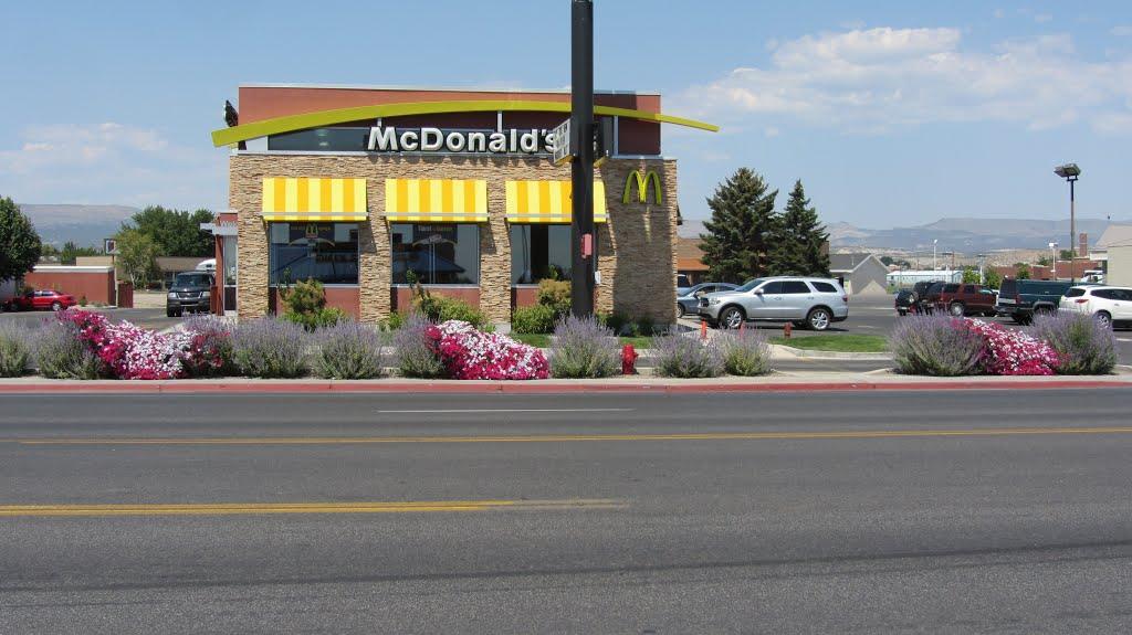 McDonalds in Vernal Utah, Вернал
