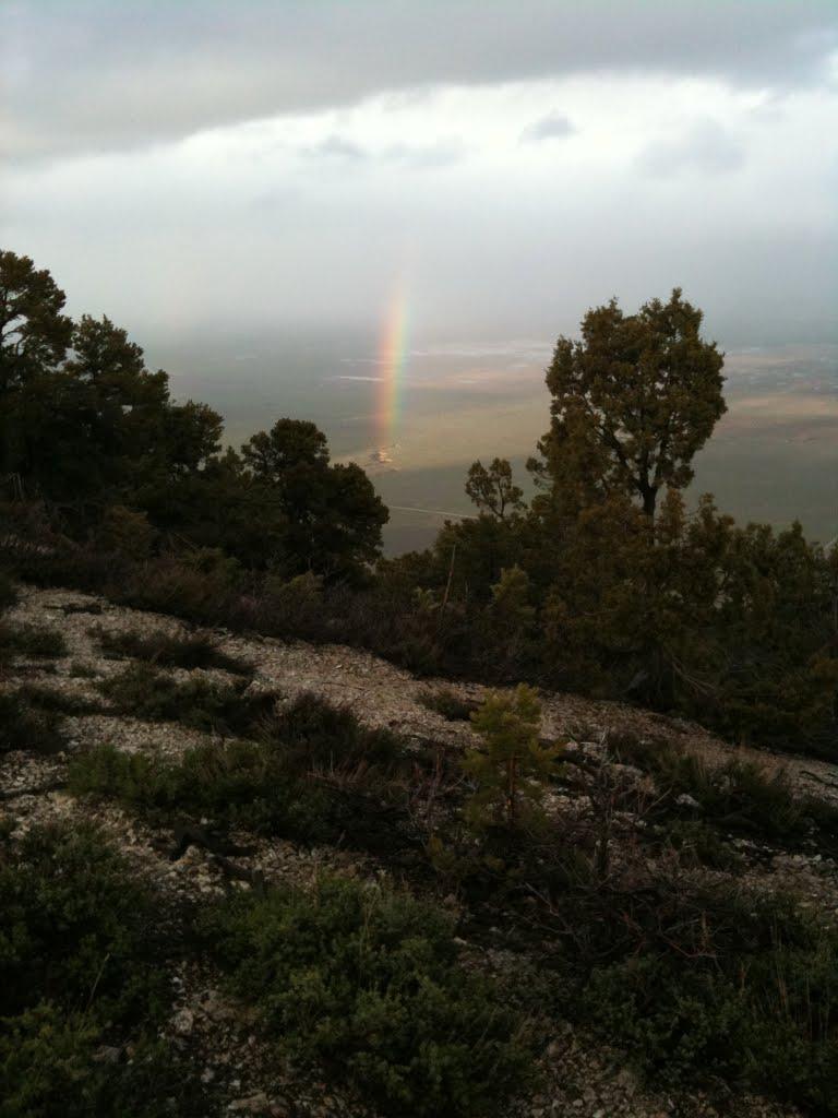 Rainbow over Sanpete Valley, Вест-Пойнт
