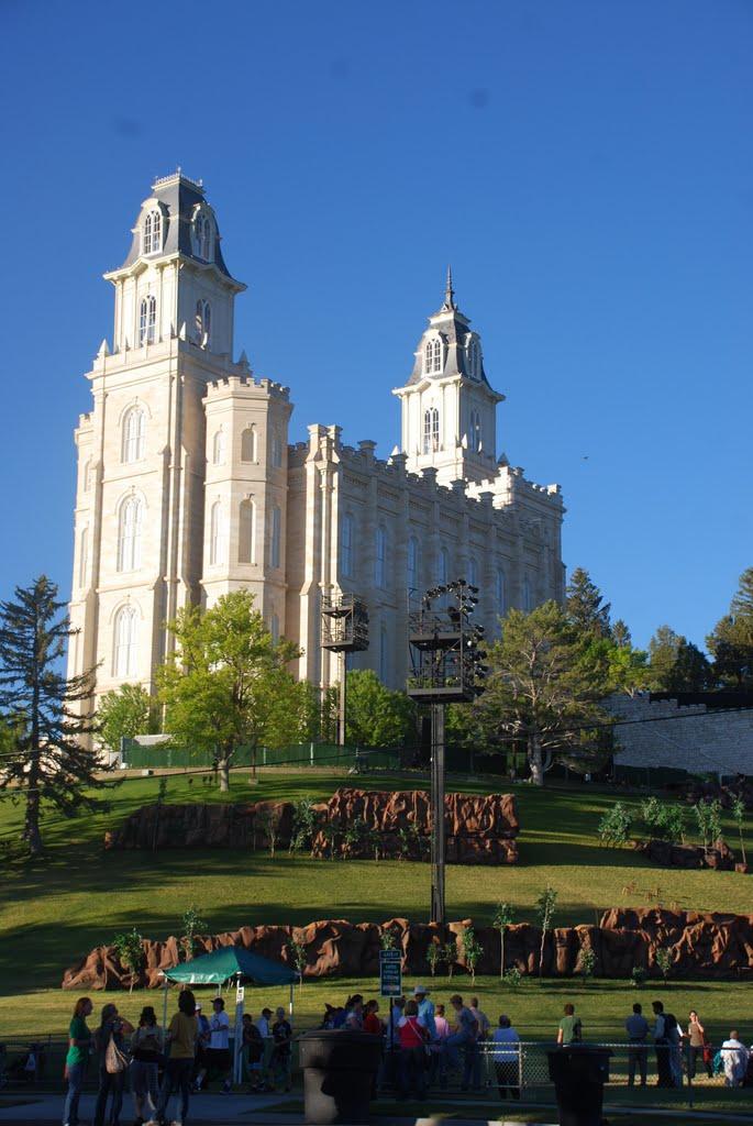 Templo de Manti, Вест-Пойнт