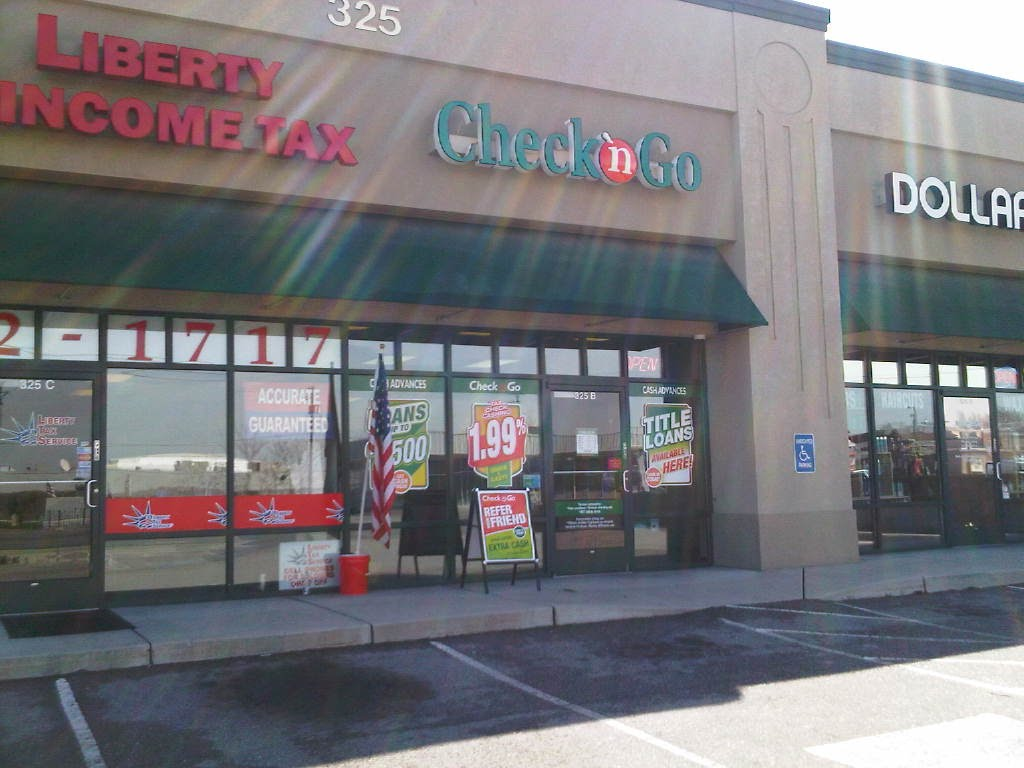 Title Loans at Check n Go, 325 South 500 West, Bountiful, UT, Вудс-Кросс