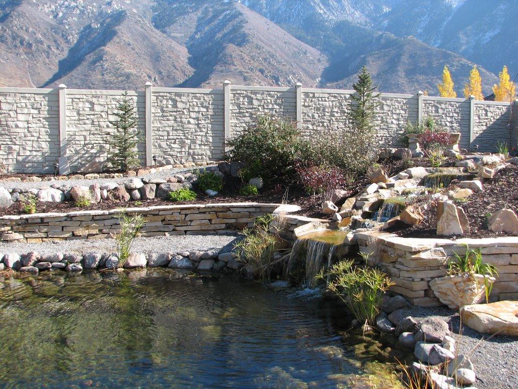 SimTek Fence in Salt Lake Pepperwood Development, Гранит-Парк