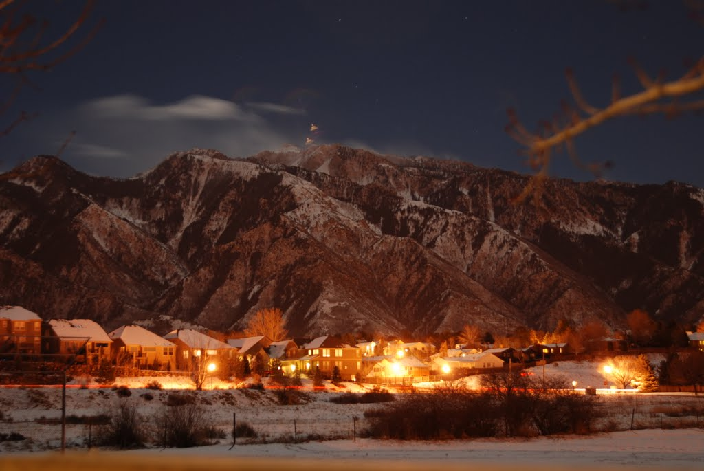 Night View of Wasatch Mountains, Гранит-Парк