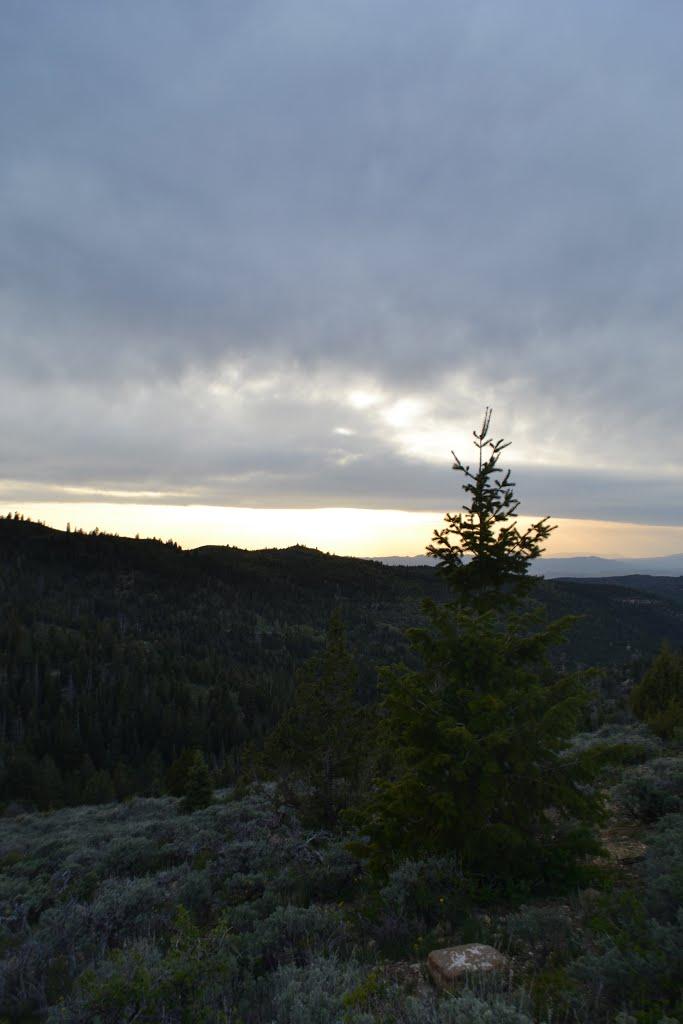 San Pitch Skyline view of Juab County, Ист-Лэйтон