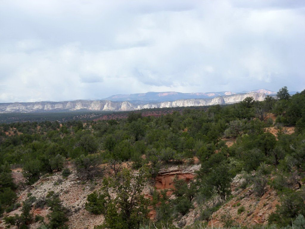 north from Squaw Trail above Kanab, Канаб