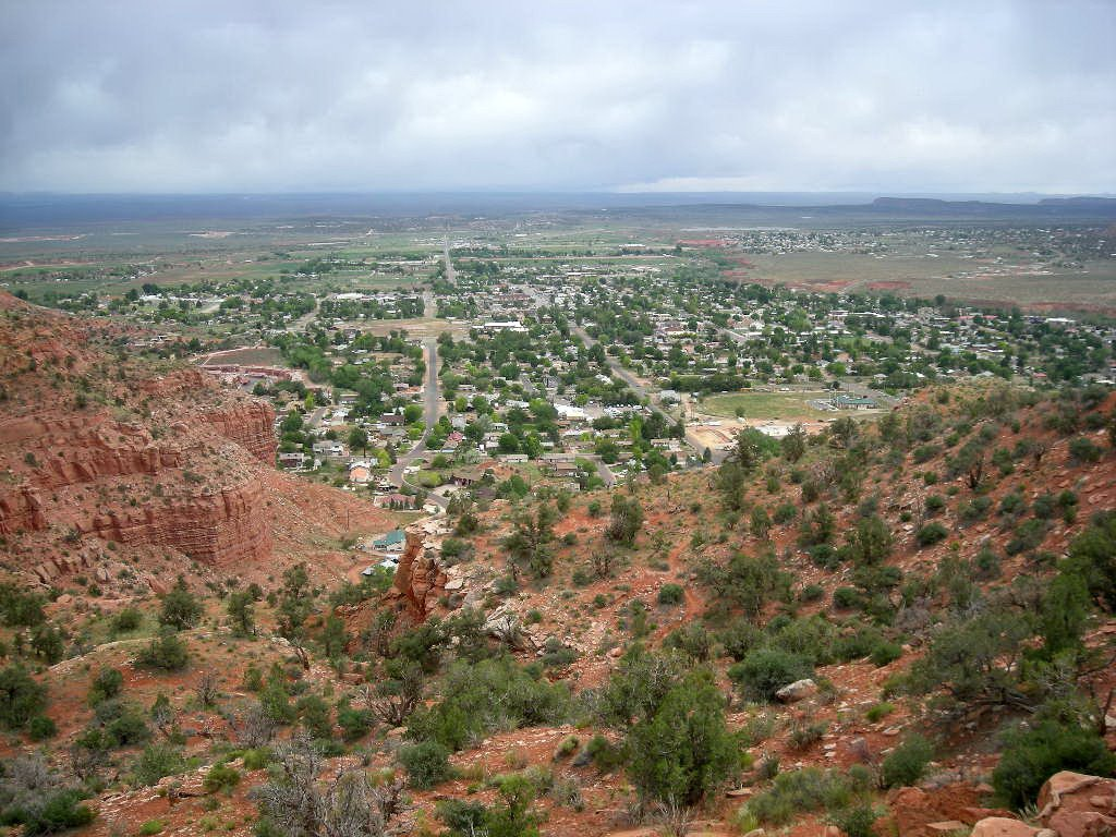 Kanab from Squaw Trail, Канаб