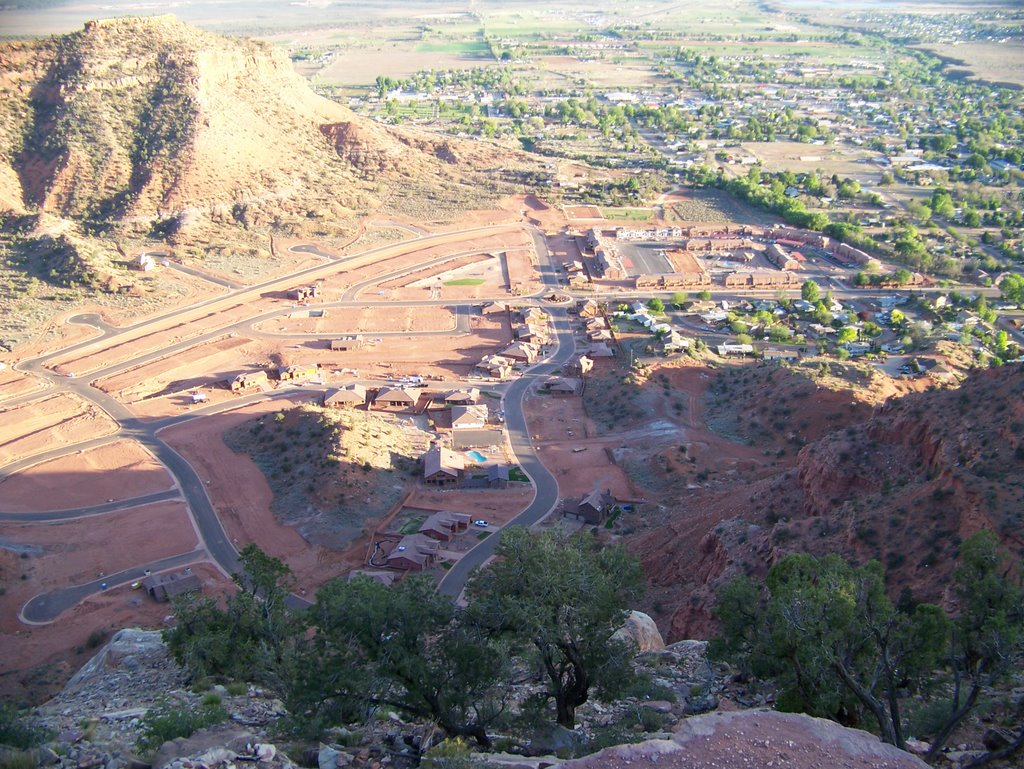 Kanab from Cell tower, Канаб