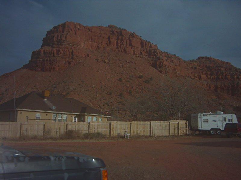 Behind Crazy Horse Camp Park (Kanab, UT), Канаб