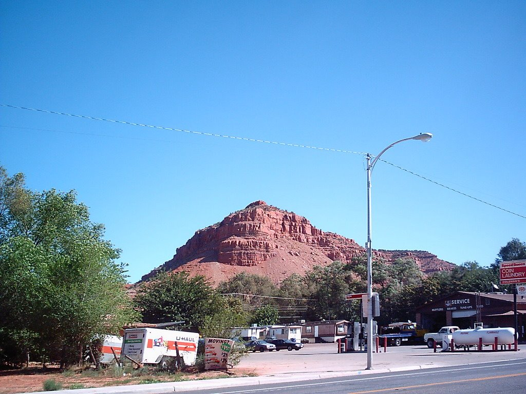 View from a East Highway 89  (Kanab E 300 S), Канаб