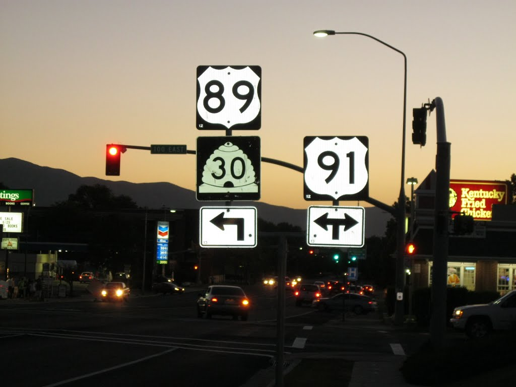 Updated US-89/UT-30 and US-91 Signs, Логан