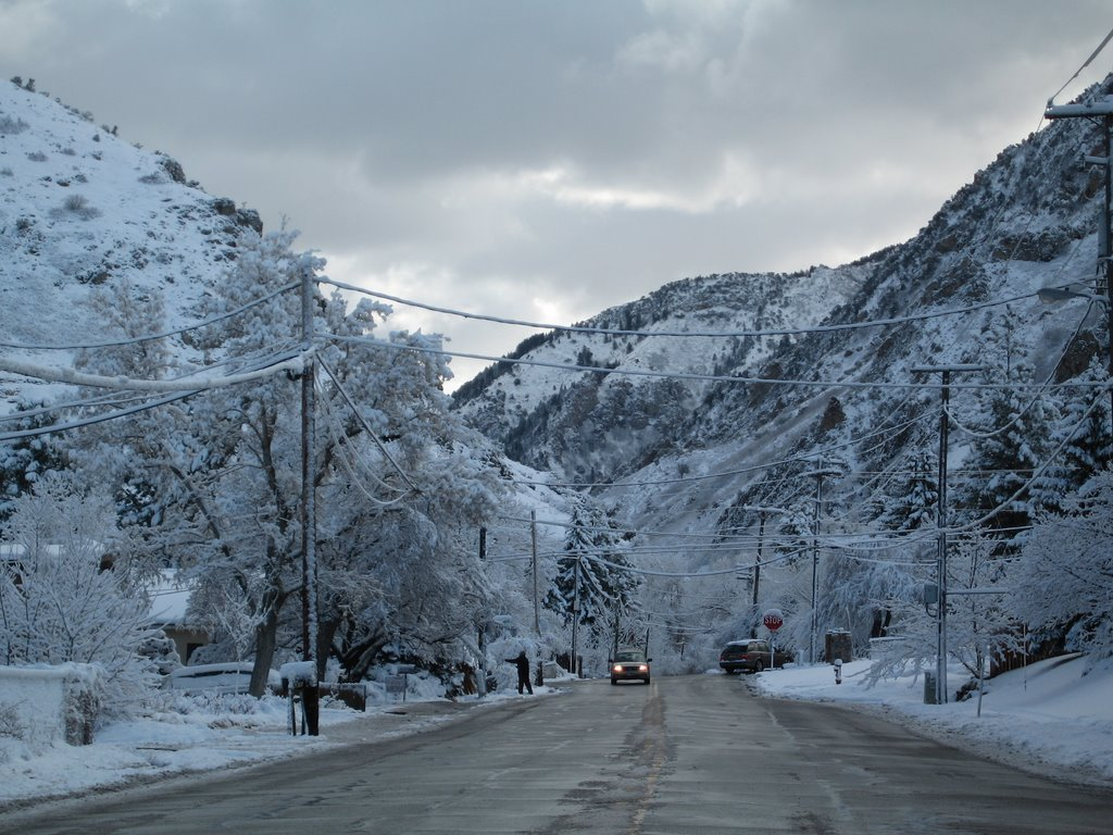 Mouth of Millcreek Canyon in the Morning, Маунт-Олимпус
