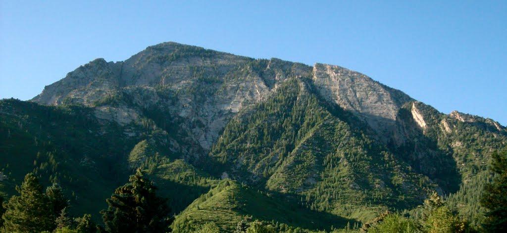 Mt. Olympus from Olympus Cove, Маунт-Олимпус