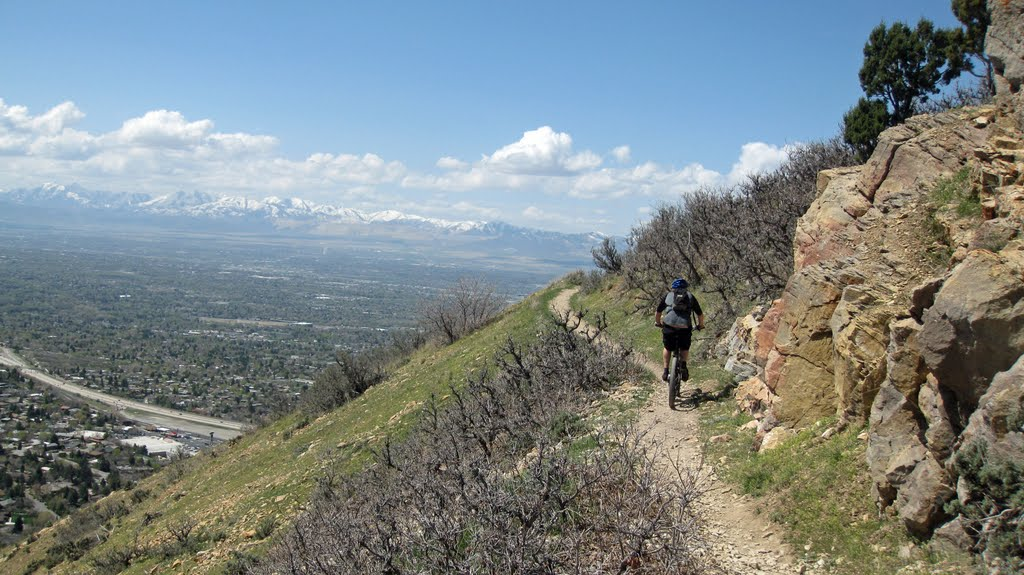 Approaching Salt Lake Overlook, Маунт-Олимпус