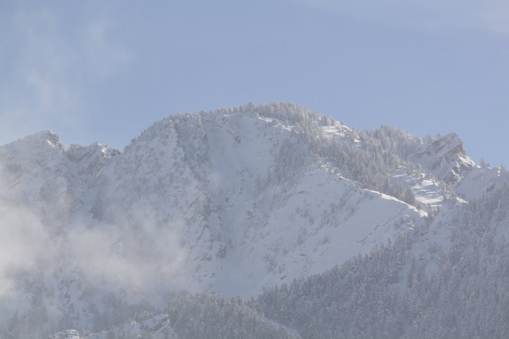 Wasatch Mountains East of Salt Lake City, Utah, Маунт-Олимпус