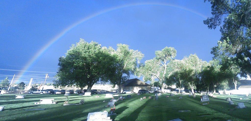Rainbow at West Jordan Cemetery, Мидвейл