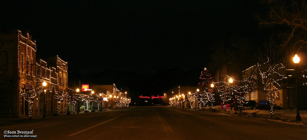 Mount Pleasant Christmas Lights on Main Street, Моунт-Плисант