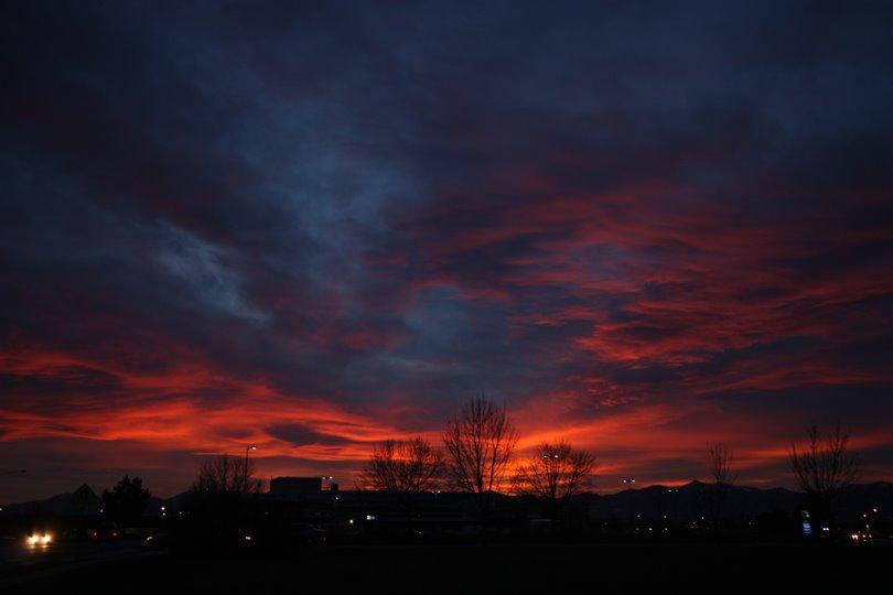 sunset 11-20-2009, Муррей
