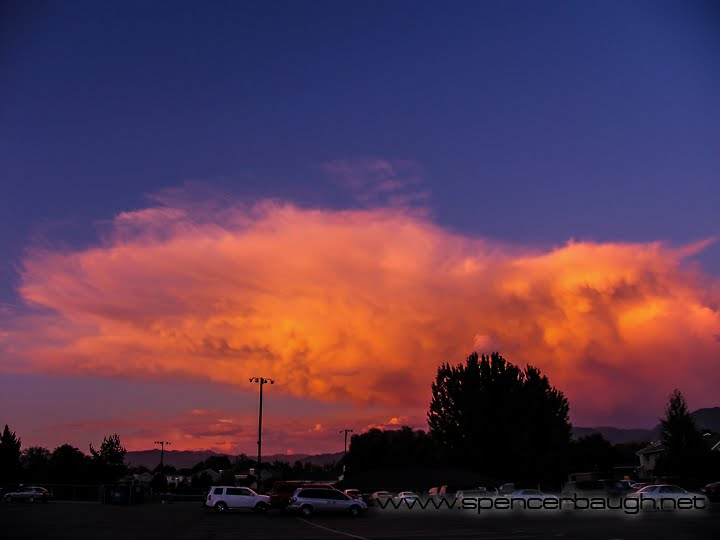sunset in the clouds, Муррей