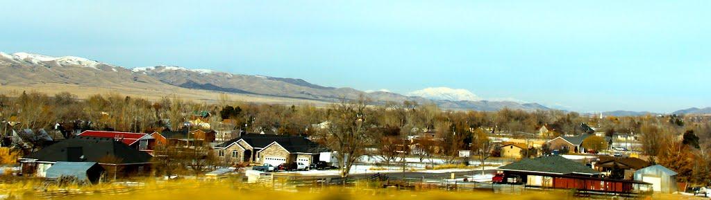 Interstate 15, Utah, Нефи