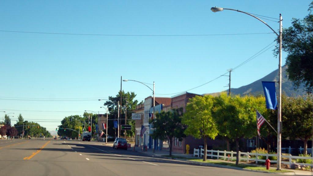 2011 07-16 Utah - Nephi - N Main St., Нефи