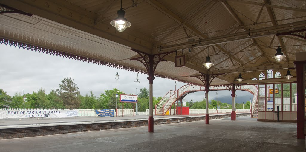 Aviemore Train Station, Авимор