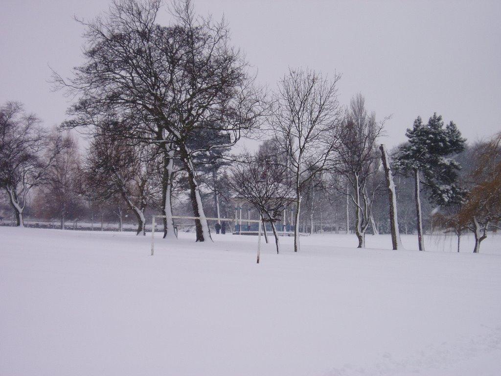mw32 Locke Park in Winter, Барнсли