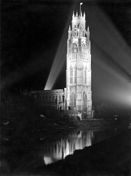 The Stump - Floodlit after WW2, Бостон