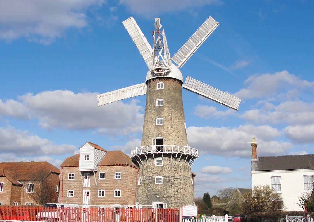 Maud Foster Windmill, Boston., Бостон