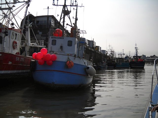 Fishing Boats at the Fish Dock, Bridlington, Бридлингтон