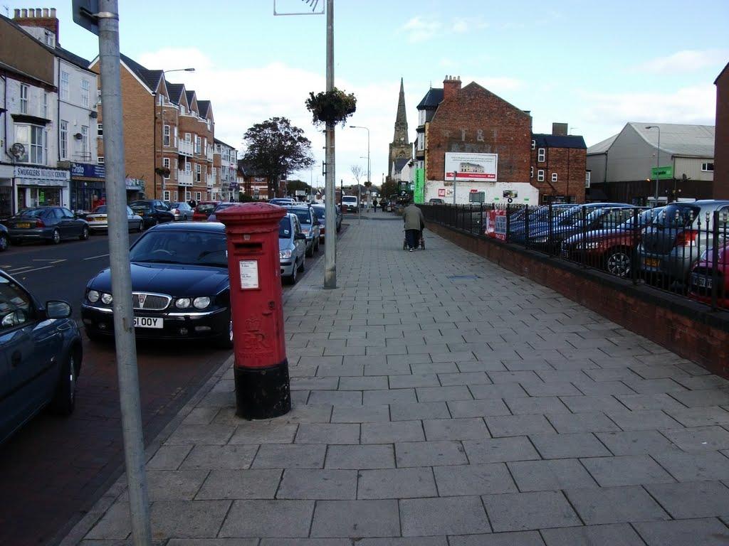 Cross Street, the way back to Sewerby, Бридлингтон