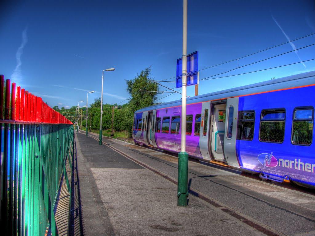Glossop train station, Глоссоп