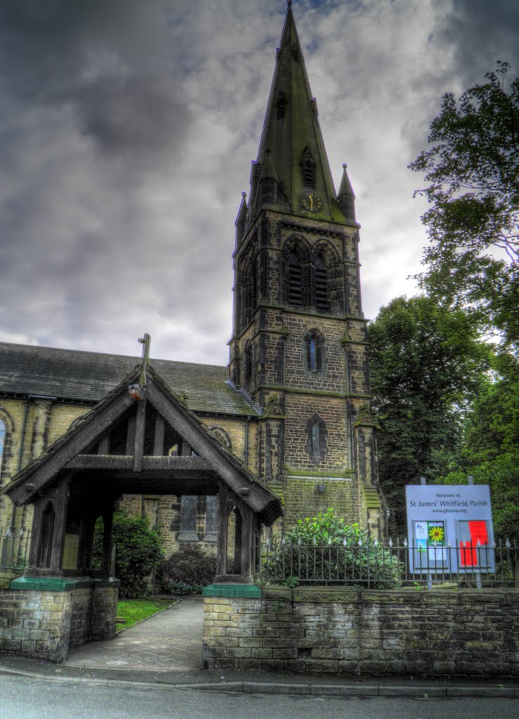St James Church - Glossop, Глоссоп