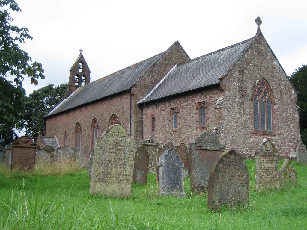 St. Marys Church, Gosforth,Cumbria., Госфорт