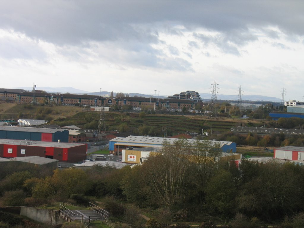 View over to Merry Hill from Netherton Hill, Дадли