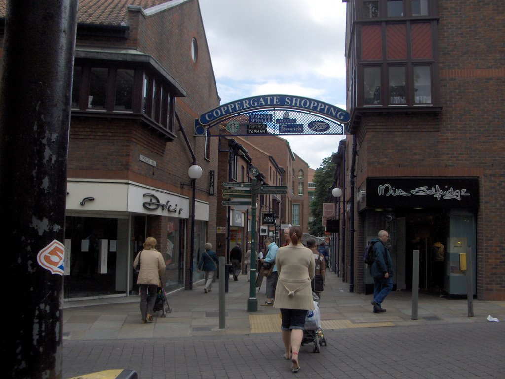 Coppergate Centre, Йорк