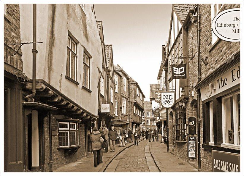The Shambles, York, Йорк