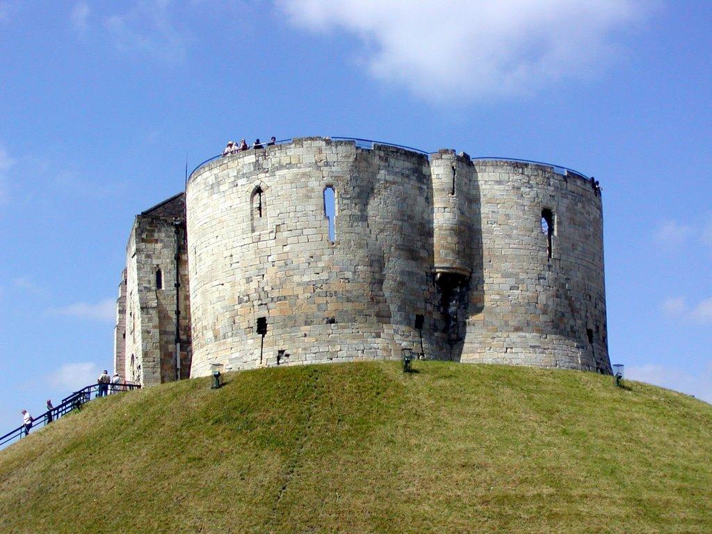Cliffords Tower - York, Йорк