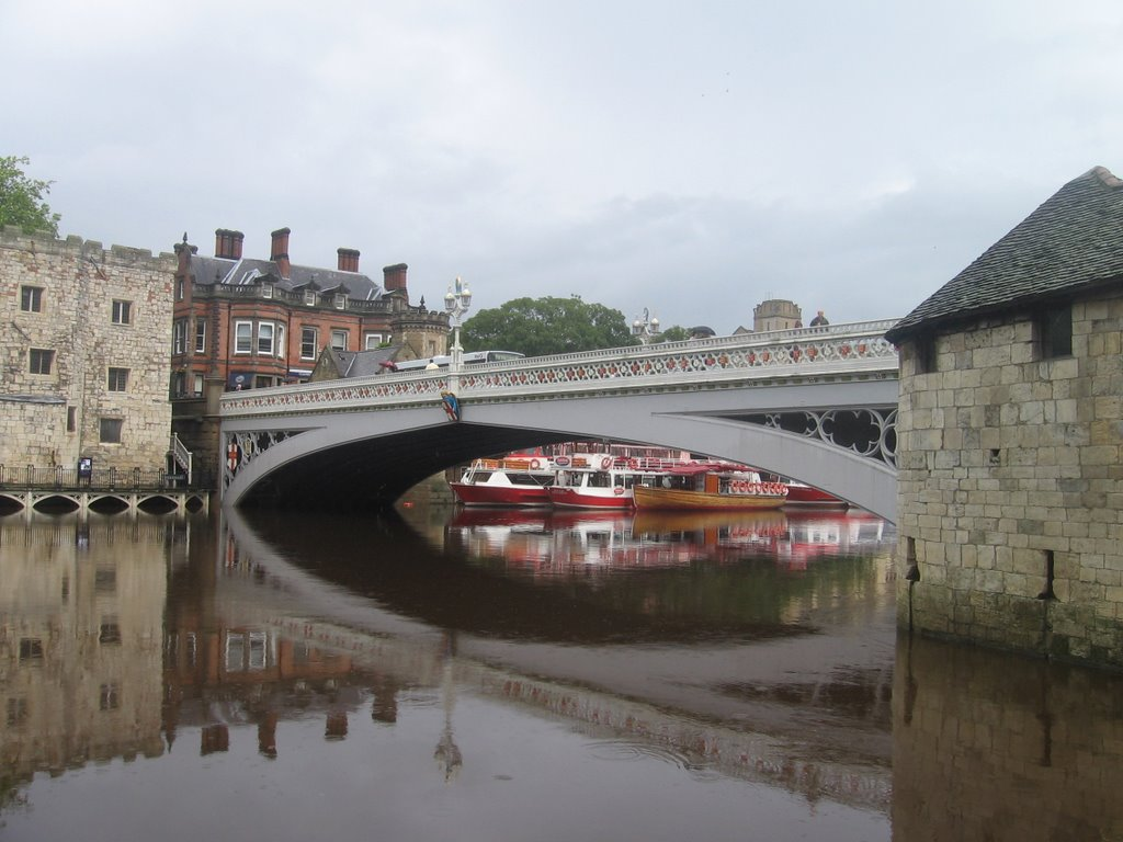 Lendal Bridge, Йорк