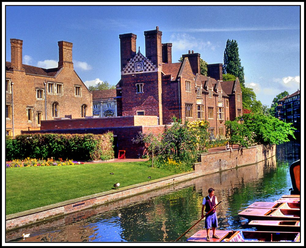 Cambridge, River, Кембридж