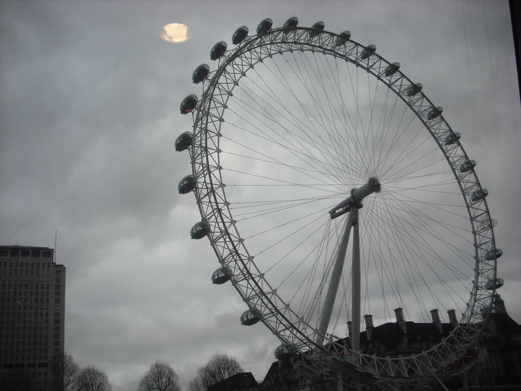 UFO over London, Лондон
