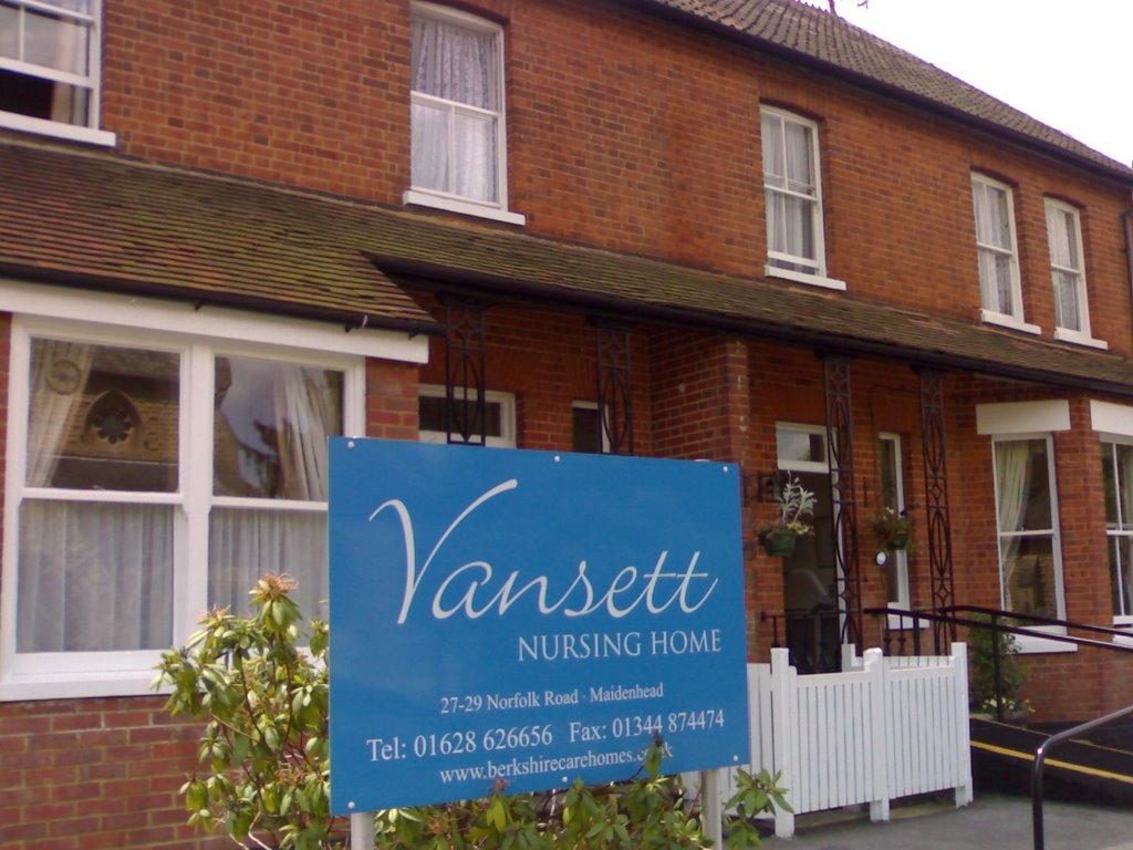 vansett nursing home, Майденхед