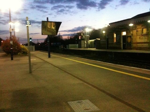 Maidenhead, platform 4 trains to Reading, Майденхед