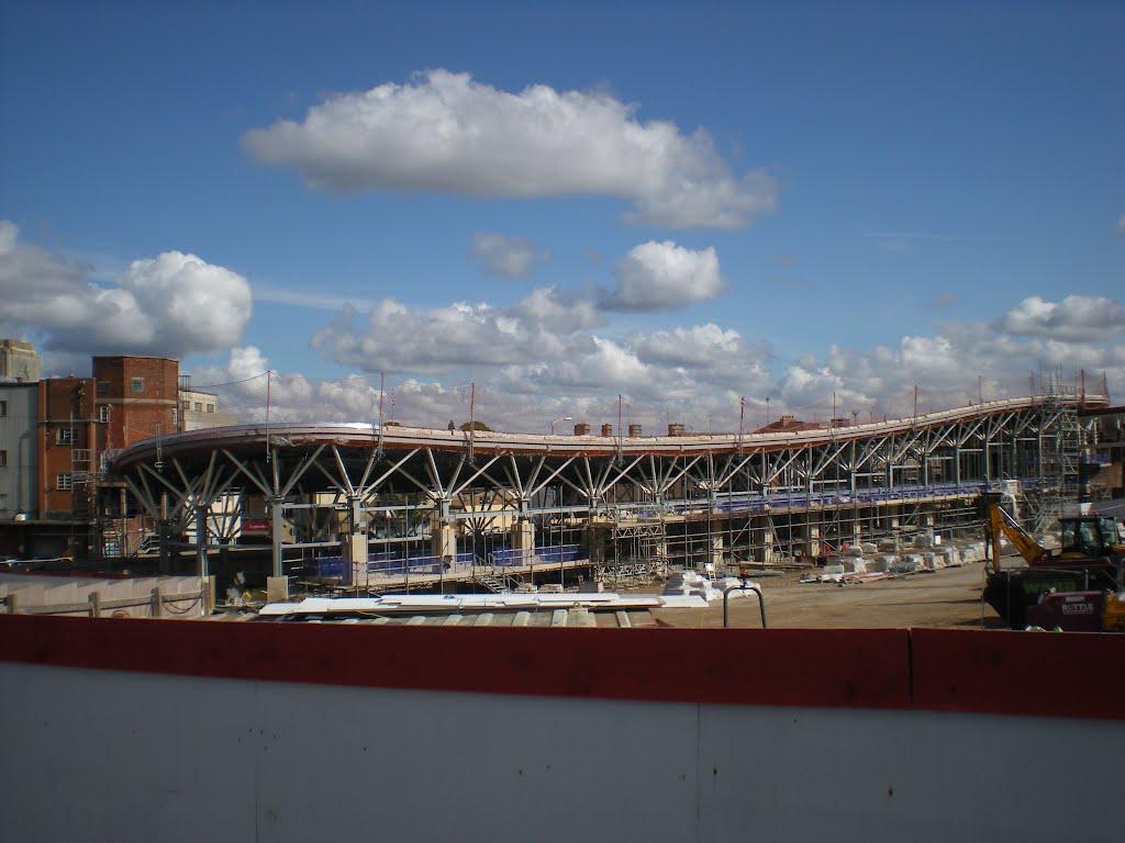 Mansfields New Bus Station, Мансфилд
