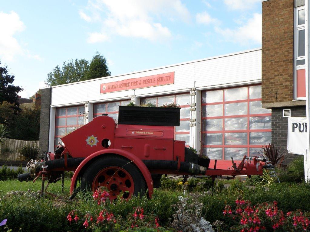 Warwickshire Fire Station, Нунитон