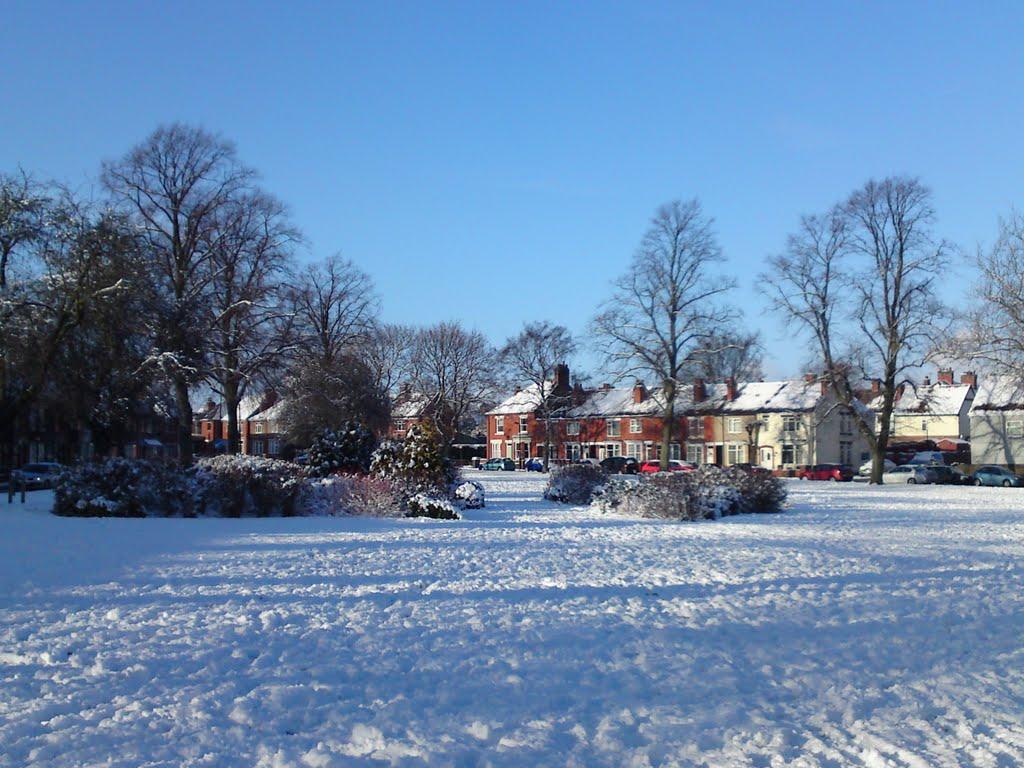 Abbey Green, Nuneaton (January 2010 Snowfall), Нунитон