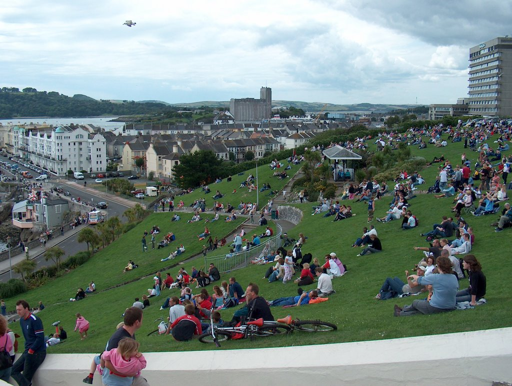 The Hoe, Plymouth Uk. Offshore boatrace day. IV., Плимут