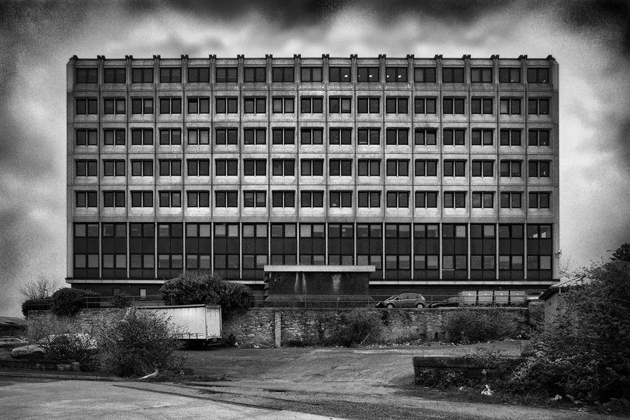 Office Block From Wasteland, Плимут