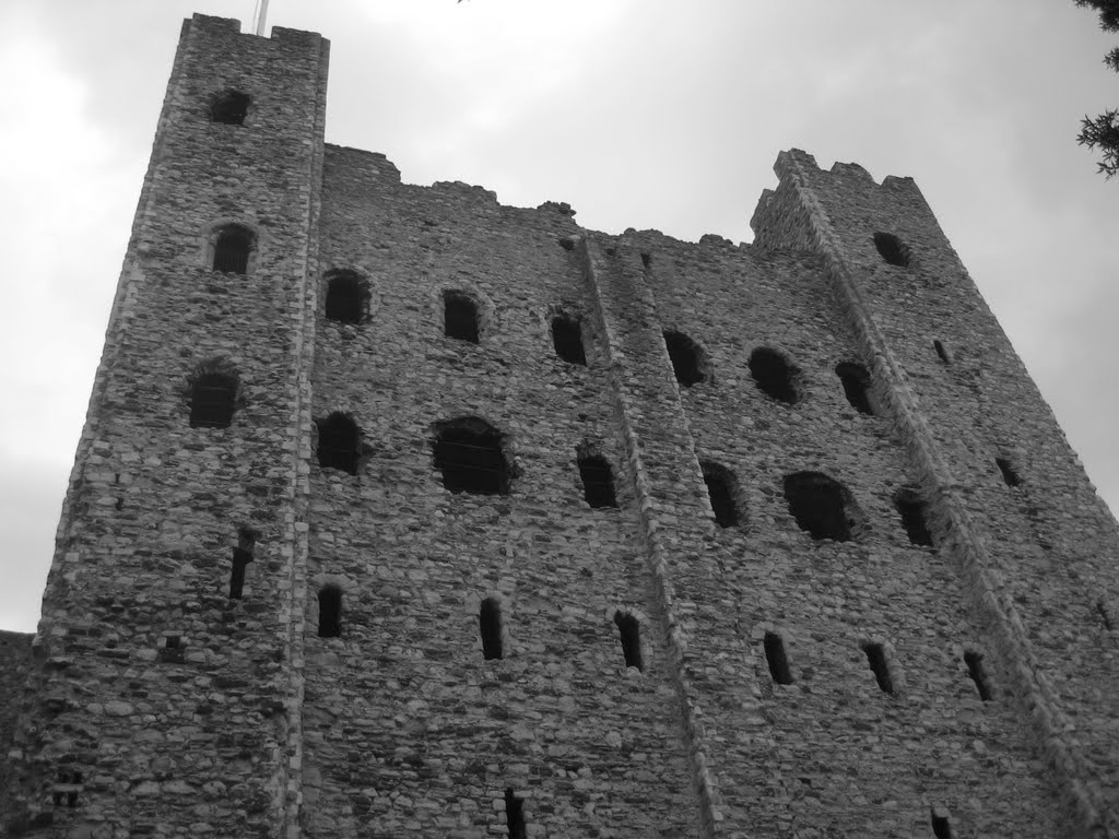 Rochester castle keep, Рочестер