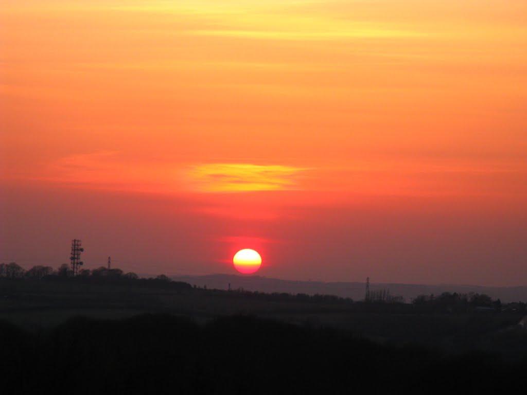 Sunset from Brierley 16/4/10, Саттон-ин-Ашфилд